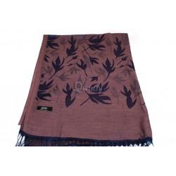 Katoen blad print design sjaal