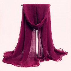 Uni Chiffon Sjaals